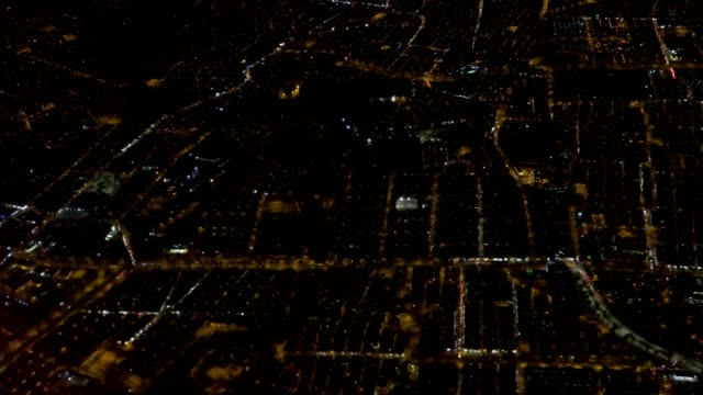 City Aerial At Night video