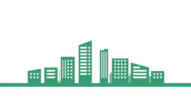 City background video