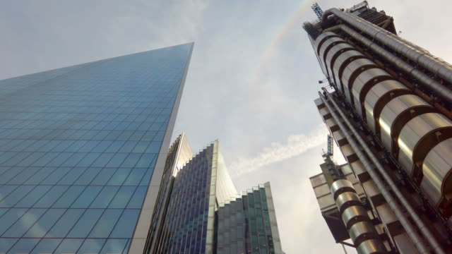 City Business Office Towers camera te verplaatsen. video
