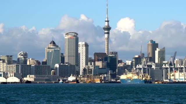 City center of Auckland, New Zealand video
