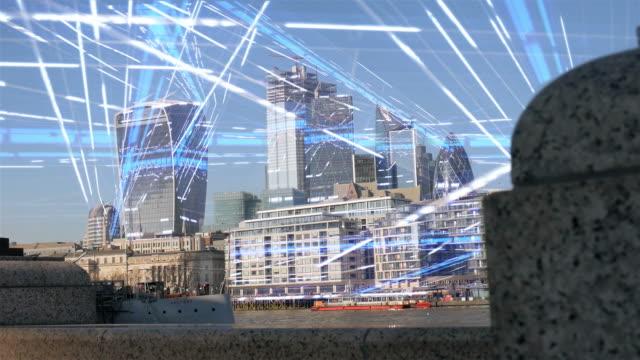 Stads gegevensnetwerk. video
