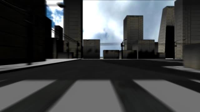 City drive loop video