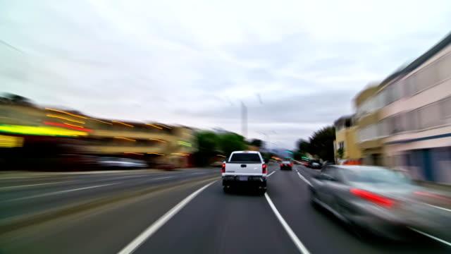 SF City Driving Time Lapse Golden Gate Bridge video