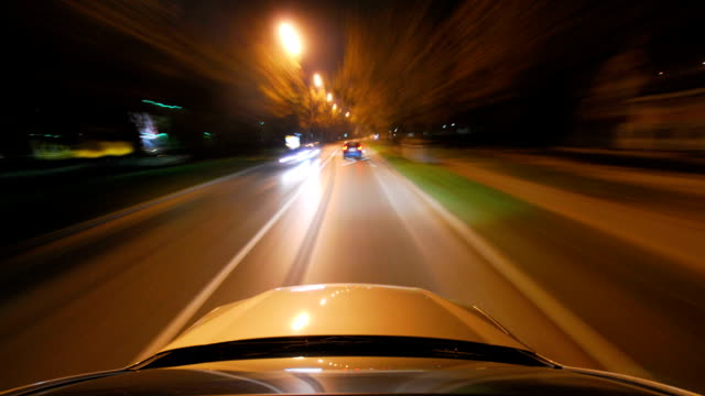 HD TIME-LAPSE LOOP: City Driving video
