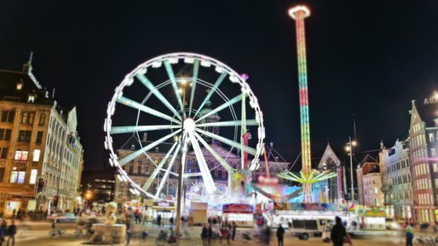 City Fair Time Lapse Amsterdam video