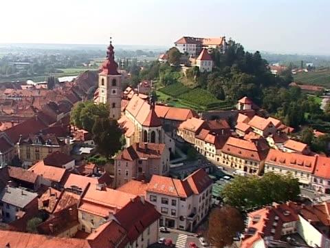 city from air - i̇badet yeri stok videoları ve detay görüntü çekimi