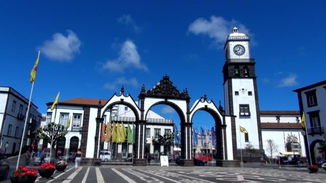 City Gate - Ponta Delgada, Azores video