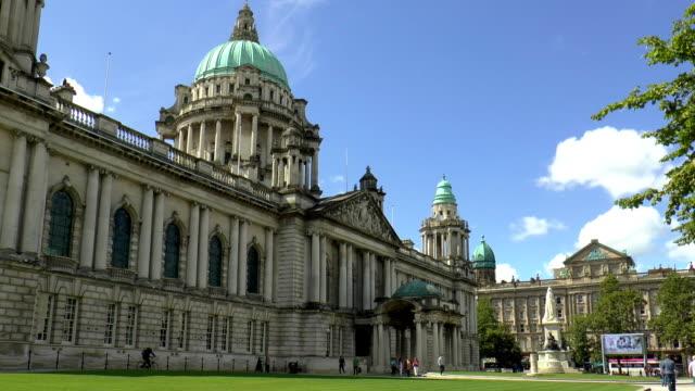City Hall - Belfast, Northern Ireland video