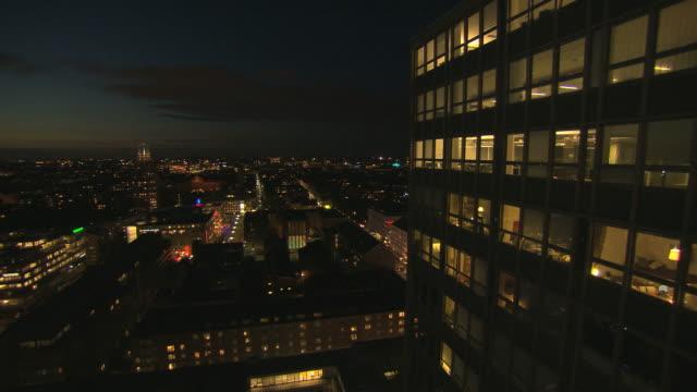 City landscape. video