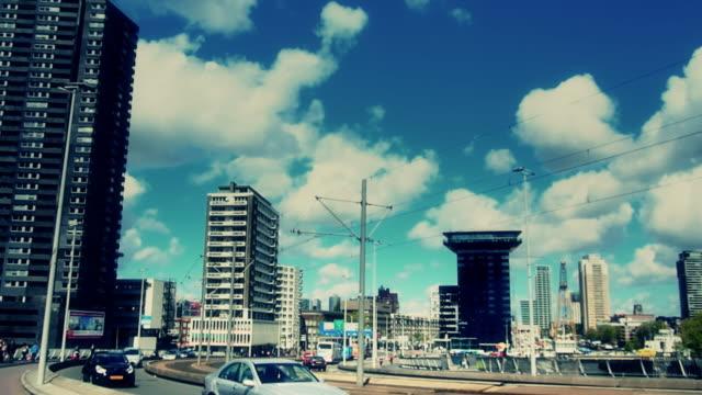 City Life at Rotterdam, Netherland video