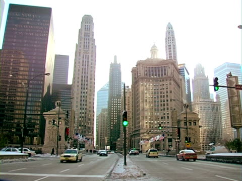 City Life in Chicago. video
