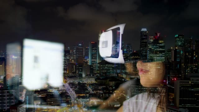 stockvideo's en b-roll-footage met vr stadsleven - oost aziatische cultuur
