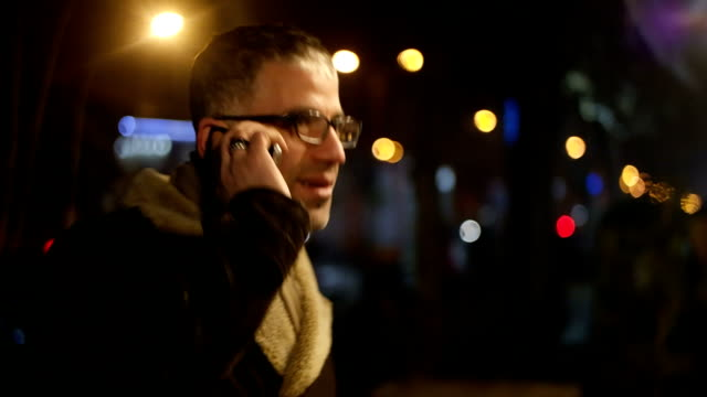 city lights and phone calls video