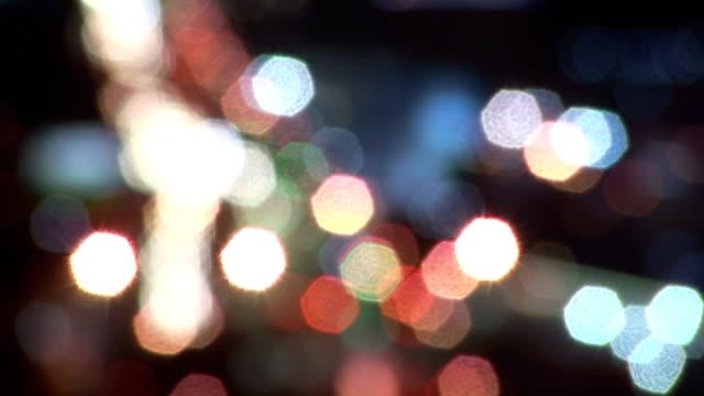 City Lights Defocused video