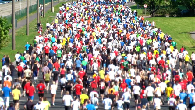 HD 1080 - City Marathon video