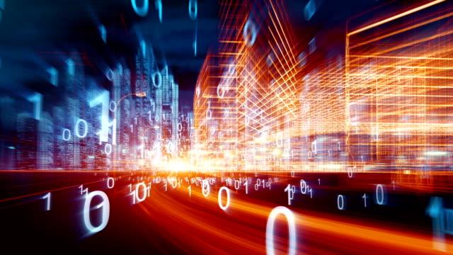 Technologie de réseau de ville - Vidéo