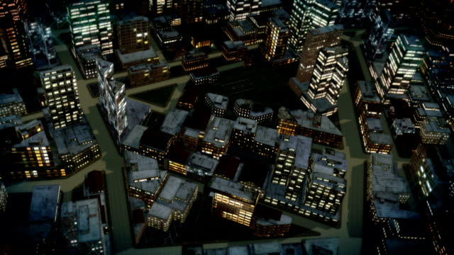 City Night Flight video