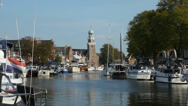 オランダ、イッセルメールのレンマー市 - オランダ点の映像素材/bロール