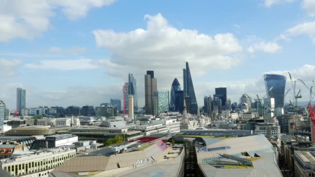 City of London from the West video