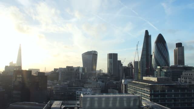 City of London time lapse from the East video