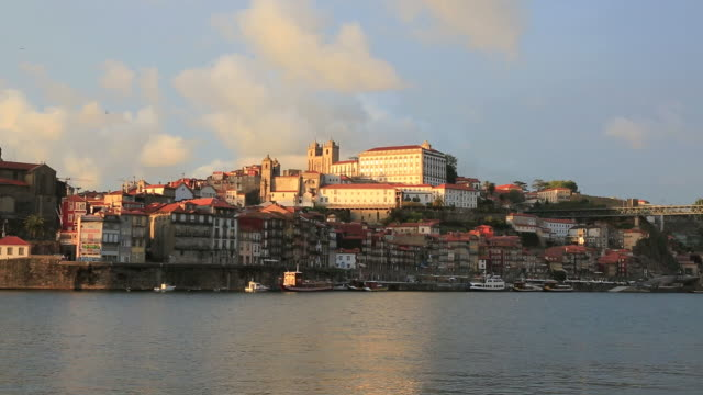 City of Porto at Sunset, Portugal video