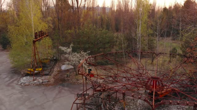 city of pripyt near chernobyl nuclear power plant - rusty stock videos & royalty-free footage