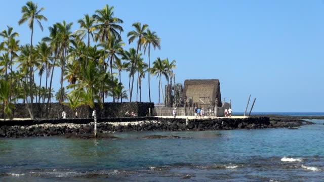 City of Refuge - Kona Coast, Hawaii video