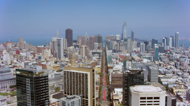AERIAL City of San Francisco, California