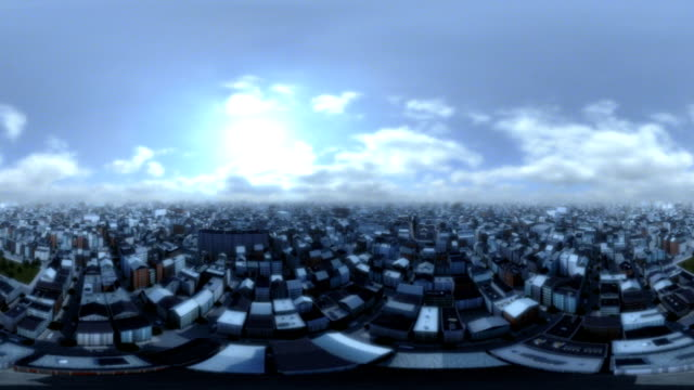 City Panorama 360 Degree Landing video