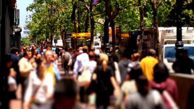 City Pedestrian Traffic