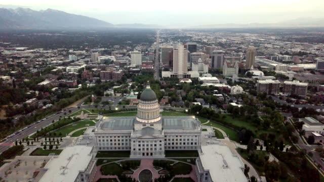 州議会議事堂と都市景観 - 選挙点の映像素材/bロール