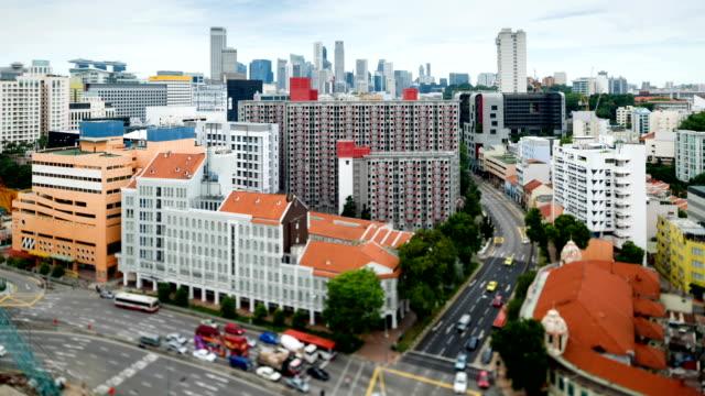 City Scenery of Singapore video