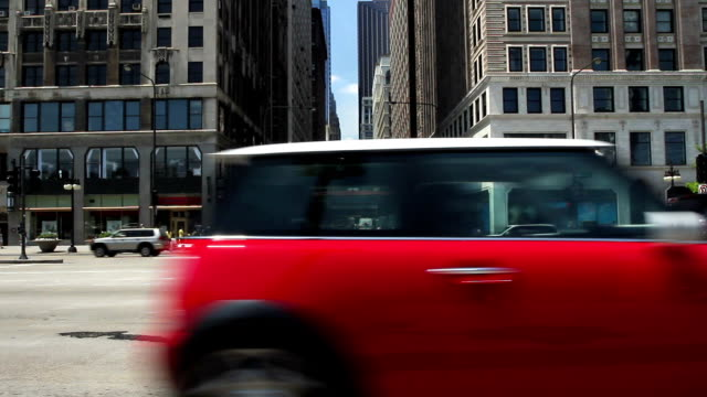 città street - passare davanti video stock e b–roll