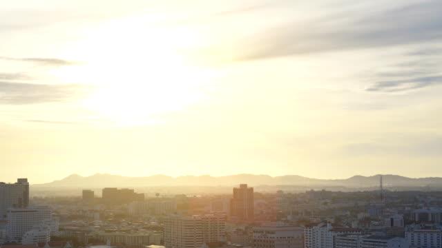 staden sunrise - hollywood sign bildbanksvideor och videomaterial från bakom kulisserna