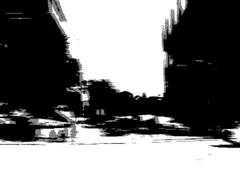 街の質感 2 - 都市 モノクロ点の映像素材/bロール