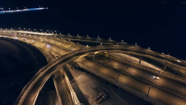 City Traffic at Night City Traffic at Night treedeo speed way stock videos & royalty-free footage