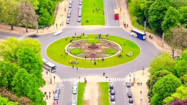 vidéos et rushes de temps qui passe-trafic de la ville de bruxelles - atomium