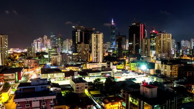 City Traffic TIme Lapse Panama City video