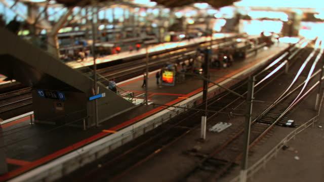 市内鉄道 - オーストラリア メルボルン点の映像素材/bロール