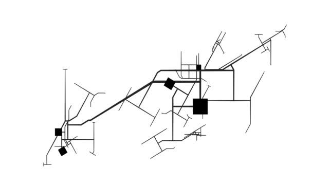 stads transport system som transport koncept - topografi bildbanksvideor och videomaterial från bakom kulisserna