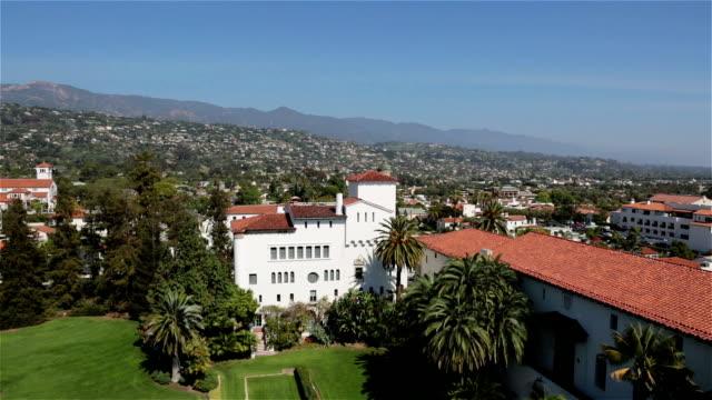 City View of Santa Barbara, California, USA video