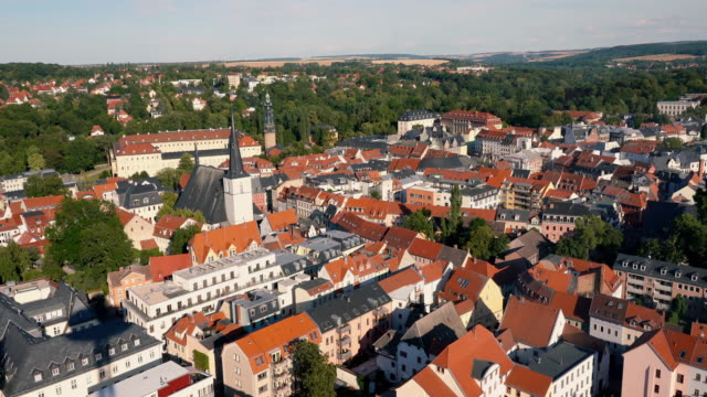 City view of Weimar, Germany