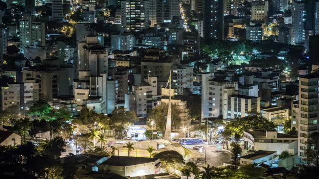 tl - cityscape - brazil - minas gerais eyaleti stok videoları ve detay görüntü çekimi