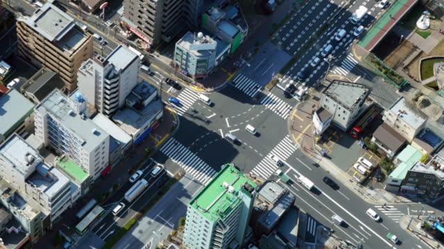 Cityscape in Japan video
