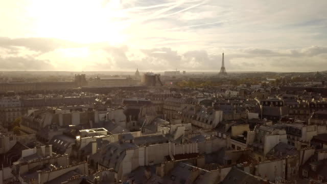 cityscape of paris - parigi video stock e b–roll