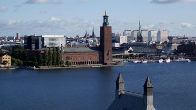 stadsbilden i stockholm, sverige - ferry lake sweden bildbanksvideor och videomaterial från bakom kulisserna
