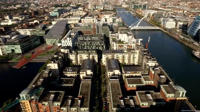 Cityscape Panorama - Dublin Bay video