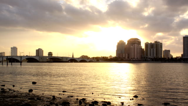 CityScape Sunse Timelapse video