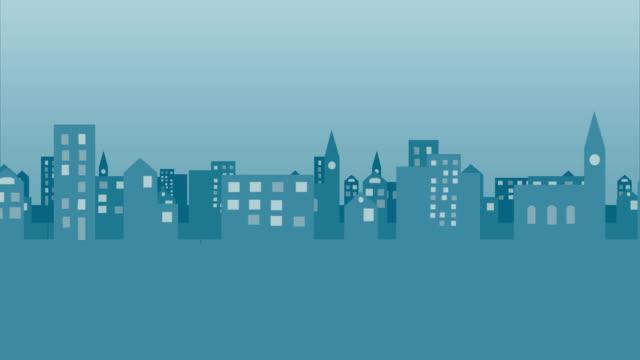 cityscape video