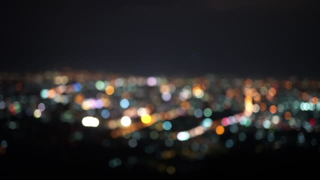 Cityscape Cityscape bokeh background image focus technique stock videos & royalty-free footage